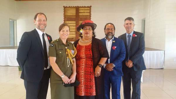 NZ High Commission to Niue team and MAM Melekitama & Hagen Siosikefu